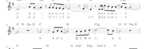 主イエスの愛で 楽譜