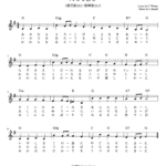 天なる喜び 楽譜 賛美歌