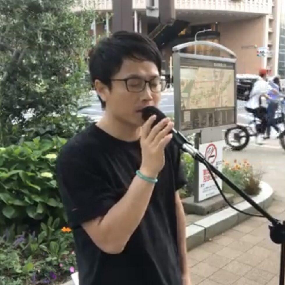 オカリナ 賛美 路上 ライブ 神戸 三宮駅 ocarina